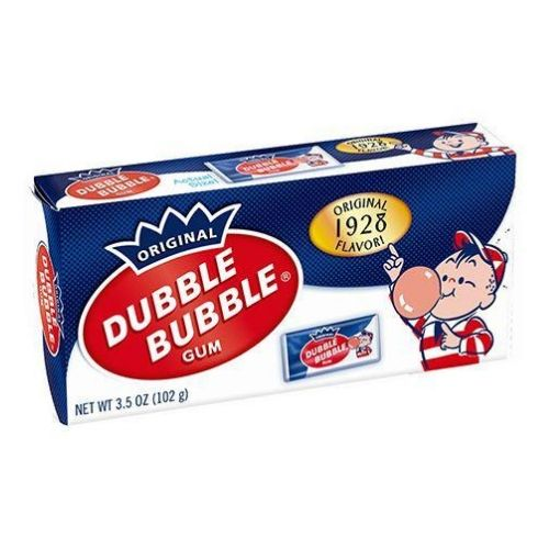 Dubble Bubble Original Bubble Gum Theater Box