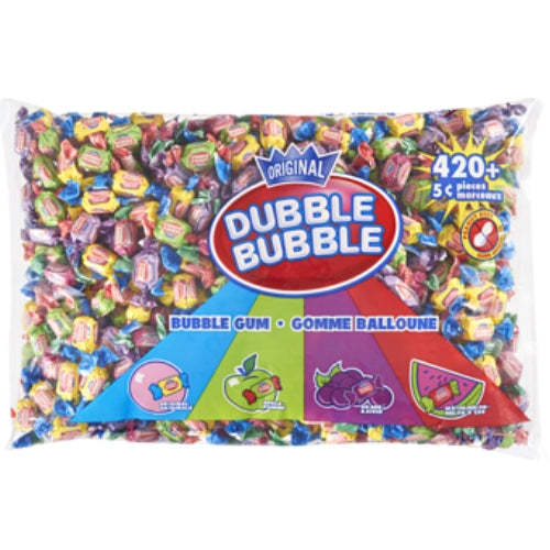 Dubble Bubble Twist Bubble Gum-420 Pieces Plus