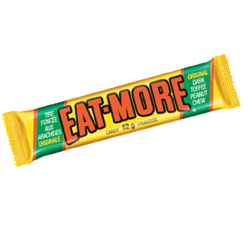 Eat-More Candy Bar-Old Fashioned Canadian Candy