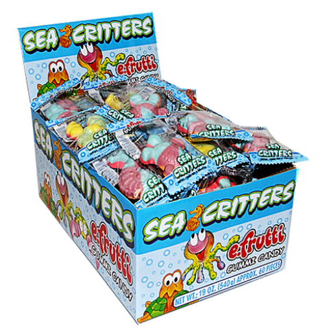 efrutti Gummi Sea Critters Candy-60 CT
