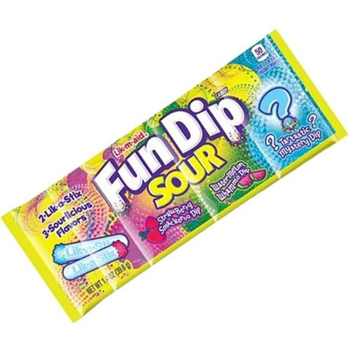 Fun Dip Sour-24 Count | Retro Candies | Candy District