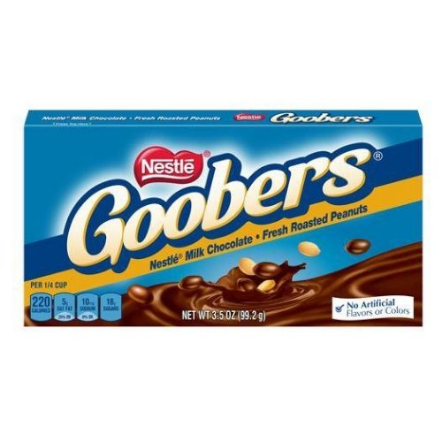 Goobers Chocolate Covered Peanuts Candy Theater Box-Old Fashioned Candy