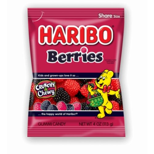 Haribo Berries Gummy Candy