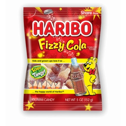 Haribo Fizzy Cola Gummy Candy