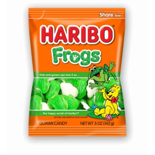 Haribo Frogs Gummy Candy