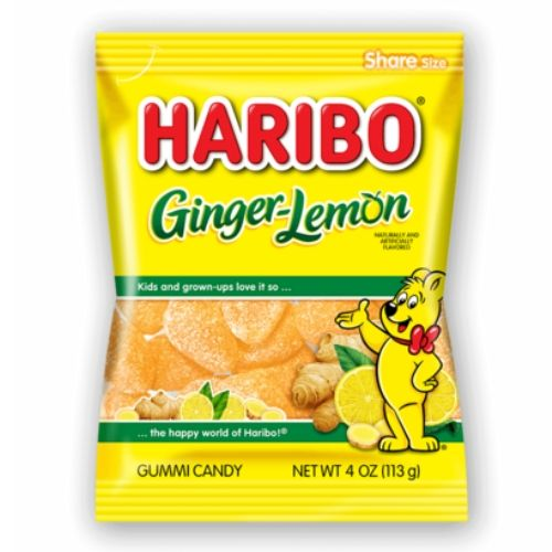 Haribo Ginger Lemon Gummy Candy