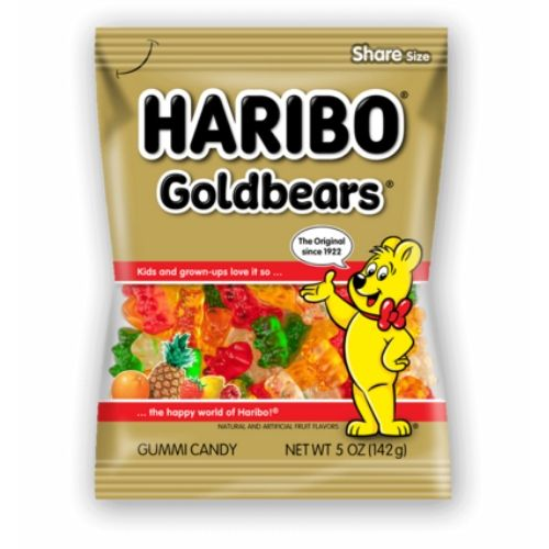 Haribo Gold Bears Gummy Candy
