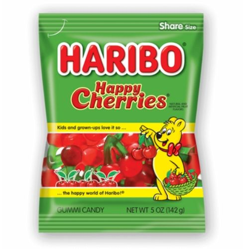 Haribo Happy Cherries Gummy Candy