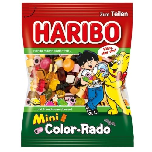 Haribo Mini Color-Rado Candy - 175 g