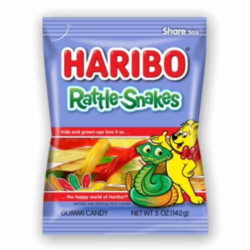 Haribo Rattle-Snakes Gummy Candy