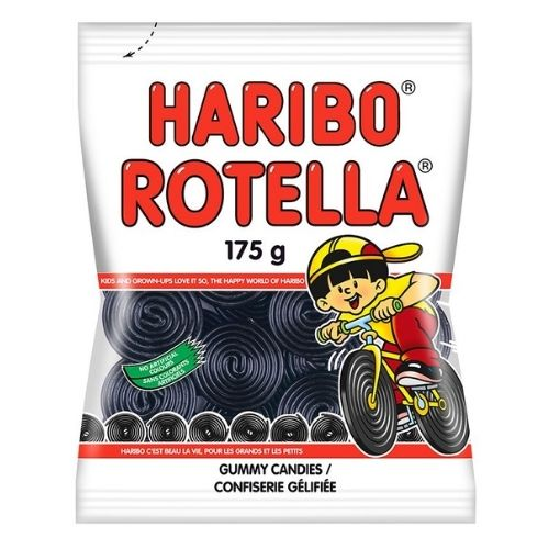 Haribo Rotella Licorice Candy- 175 g