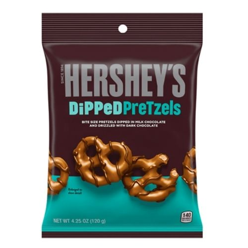 Hershey's Dipped Pretzels - 120 g