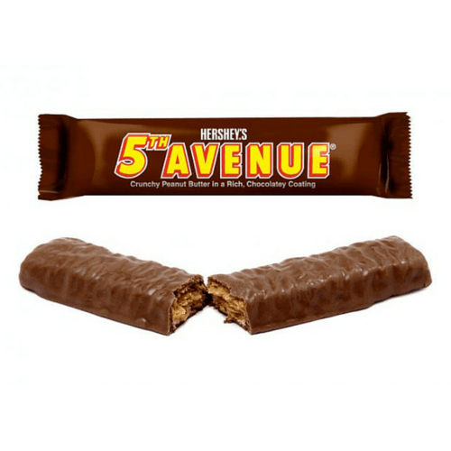 5th Avenue Chocolate Bar by Hersheys-Old Fashioned Candy-Candy Canada