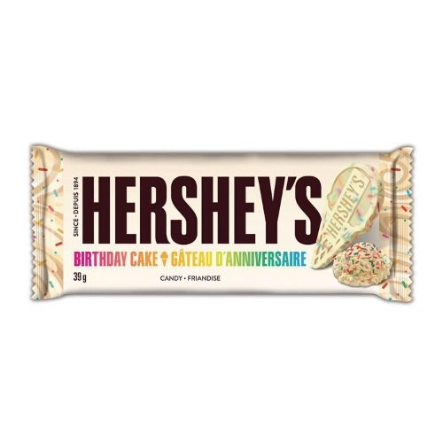 Hershey's Birthday Cake Candy Bars-24 Count Box
