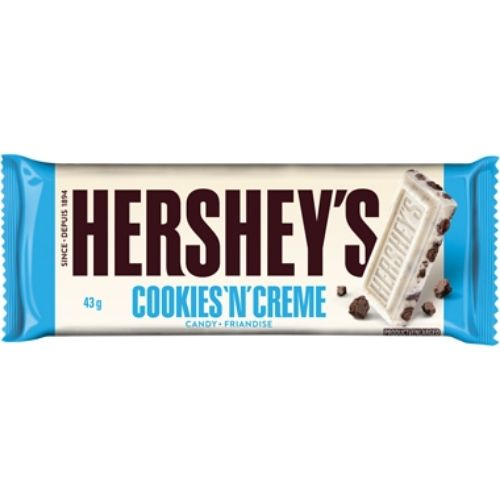 Hershey's Cookies 'N' Creme Candy Bars - 43 g