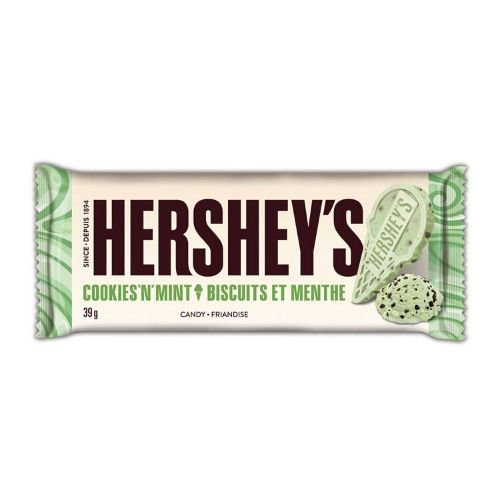 Hershey's Cookies 'n' Mint Candy Bars-24 Count Box