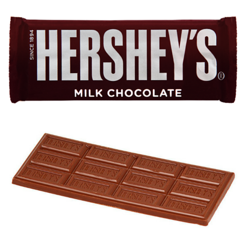 Hershey's Milk Chocolate Bar-Old Fashioned Candy