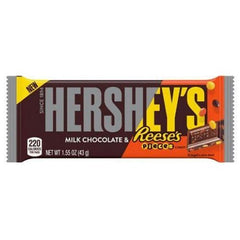 Hershey's Milk Chocolate & Reese's Pieces Candy Bars-1.55 oz.