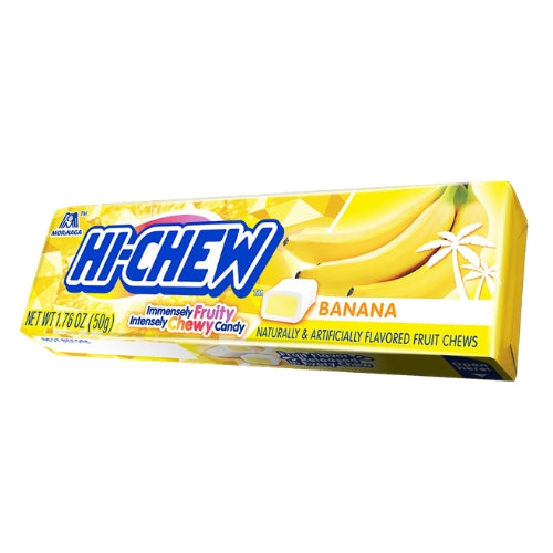Hi-Chew Banana Fruit Chews Candy - 15 Count