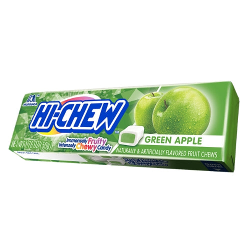 Hi-Chew Green Apple Fruit Chews Japanese Candy
