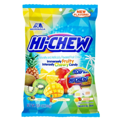 Hi-Chew Tropical Mix Fruit Chews Japanese Candy
