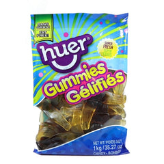 Huer Jumbo Cola Bottles Gummy Candy-1 kg