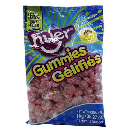 Huer Sour Cherry Slices Gummy Candy-1 kg