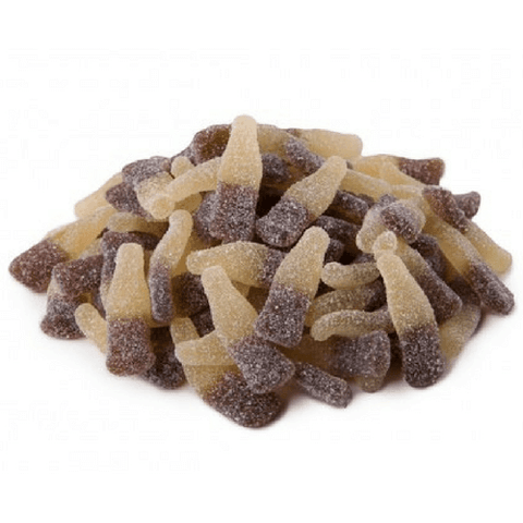 Huer Sour Cola Bottles Gummy Candy