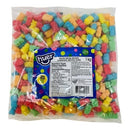 Huer Sour Neon Worms Halal Candy - 1 kg