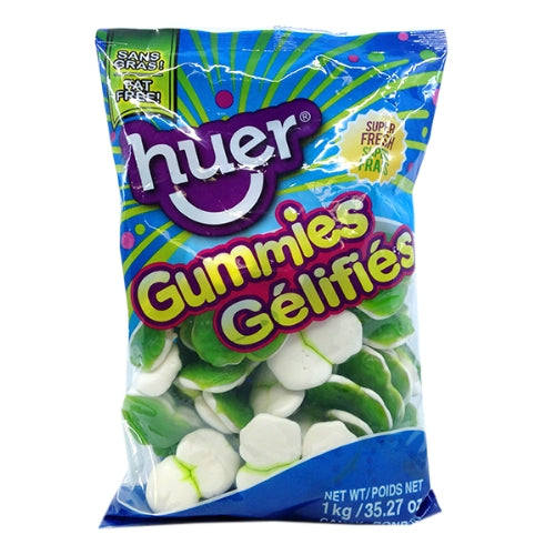 Huer Super Green Frogs Gummy Candy