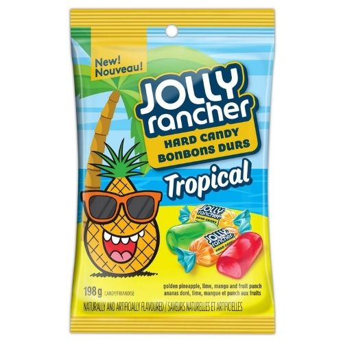 Jolly Rancher Tropical Hard Candy - 198 g