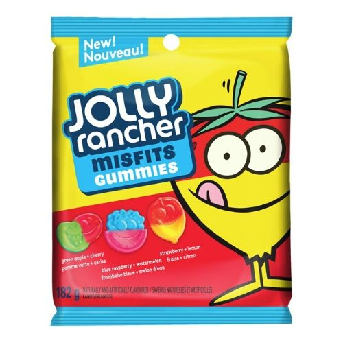 Jolly Rancher Misfits Gummies Original Candies-182 g