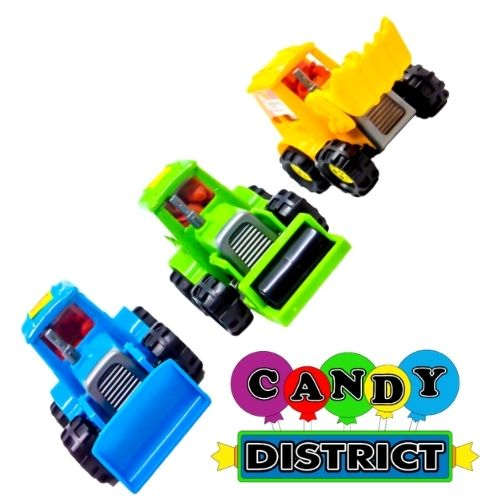 Kidsmania Bubble Dozer Bubble Gum Nuggets Filled Truck