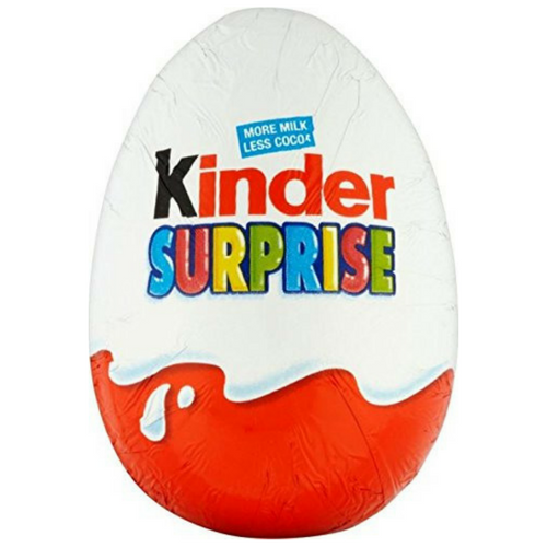 Kinder Surprise Chocolate Surprise Eggs-24 CT