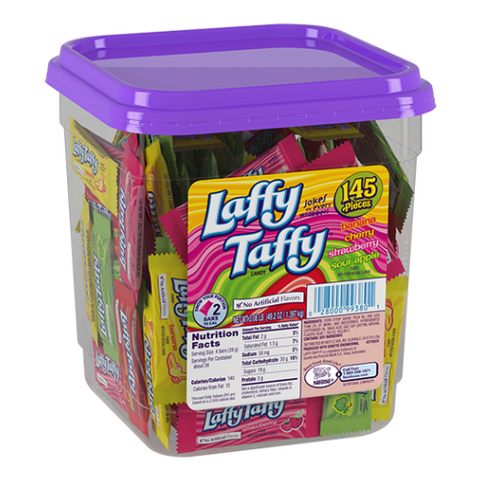 Laffy Taffy Assorted Flavours Mini Candy Bars-145 CT