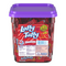 Laffy Taffy Cherry Mini Candy Bars 145 Count Tub