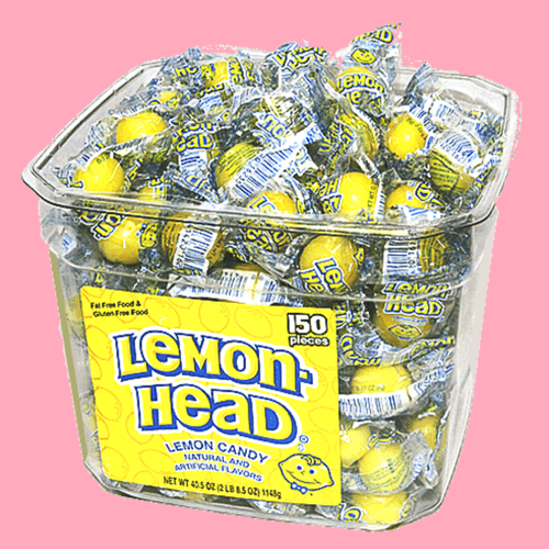 Lemon-Head Candy-Retro Candies