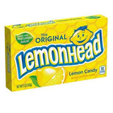 Lemonhead Lemon Candy Theater Box Retro Candy
