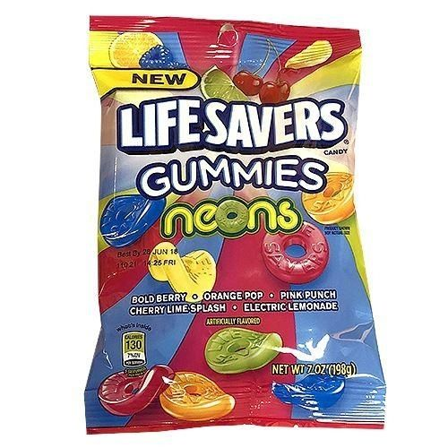 Life Savers Gummies Neons - 198 g