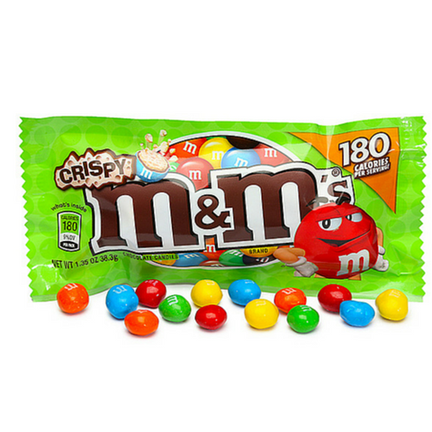 M&M's Crispy Chocolate Candies