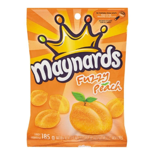 Maynards Fuzzy Peach Canadian Candy-Candy District