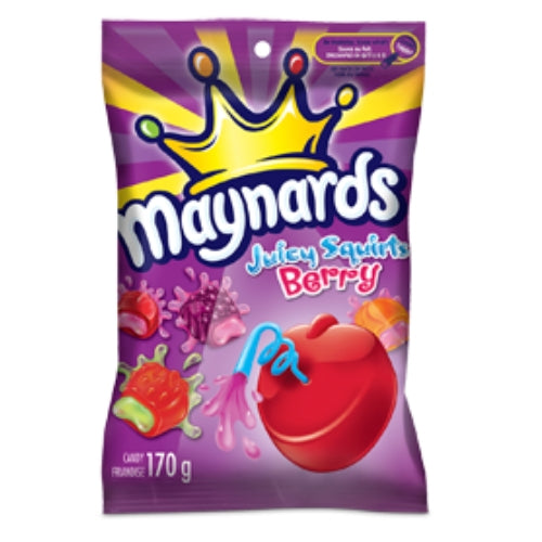 Maynards Juicy Squirt Berry Canadian Candy