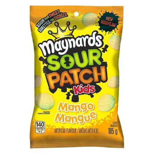 Maynards Sour Patch Kids Mango Canadian Candy