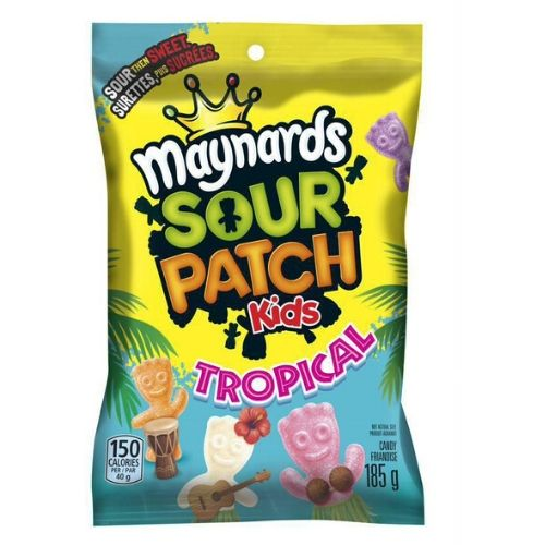 Maynards Sour Patch KidsTropical Canadian Candy