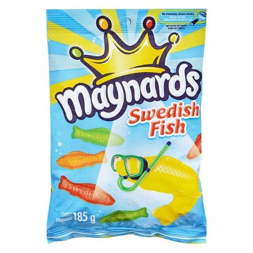 Maynards Swedish Fish Canadian Candy