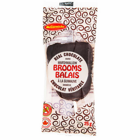McCormick Chocolate Marshmallow Brooms-20 CT