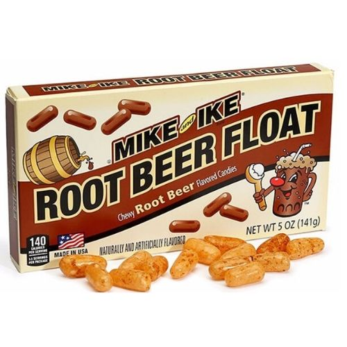 Mike and Ike Root Beer Float Candies Theater Pack 5 oz.