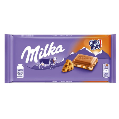 Milka Chips Ahoy! Chocolate Bars-100 g