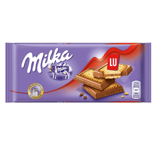 Milka & LU European Chocolate Made with Alpine Milk