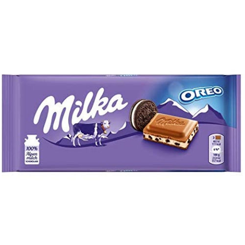Milka Oreo European Chocolate Made with Alpine Milk